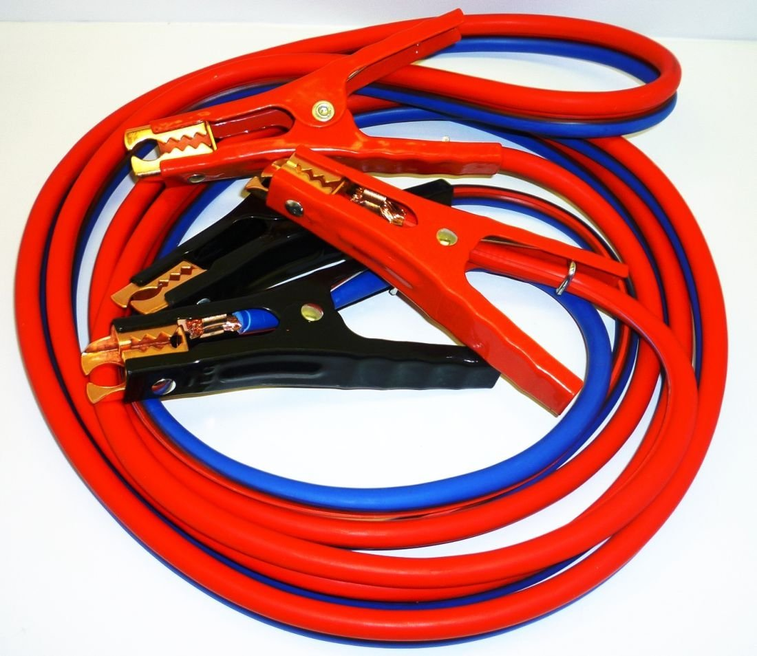 Auto 16 FT 4 Gauge Booster Cable Jumping Cables Heavy Duty Power Jumper Starter