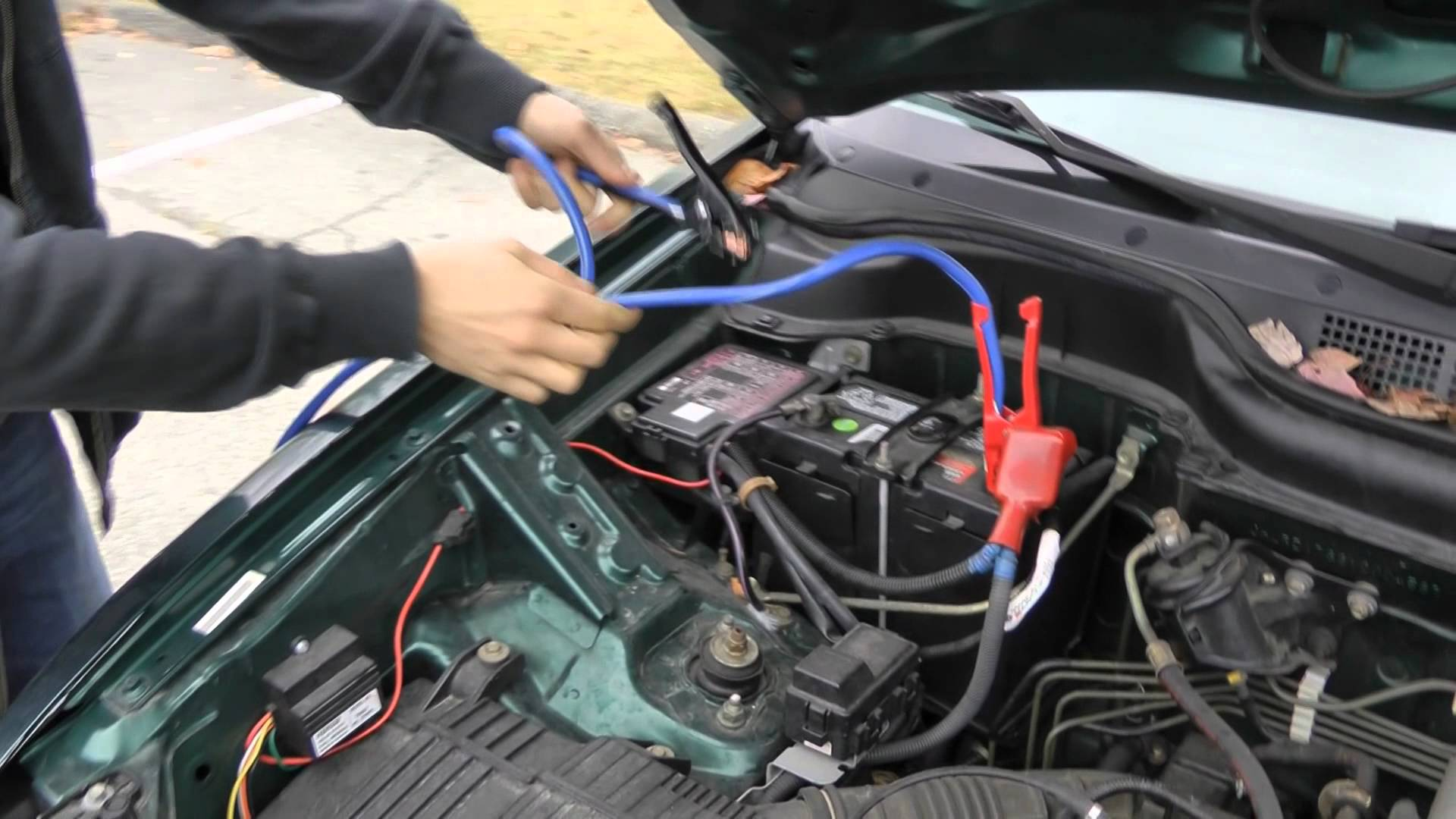 How To Jump A Starter >> Video Instructions To Jump Start Your Car Best Jump